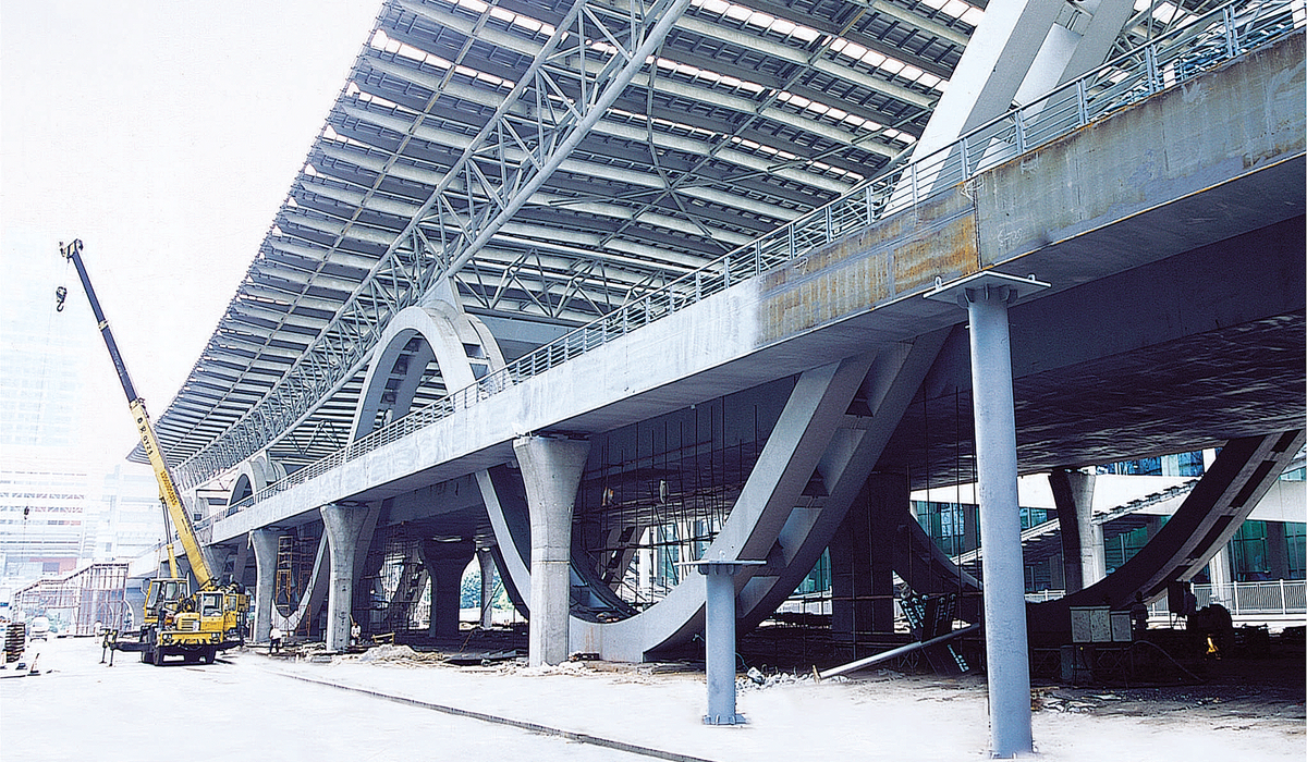 琶洲会展中心步行天桥项目