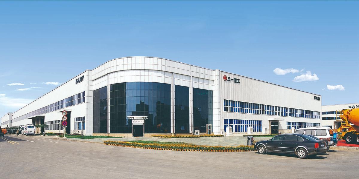 湖南三一重工星沙工业园项目