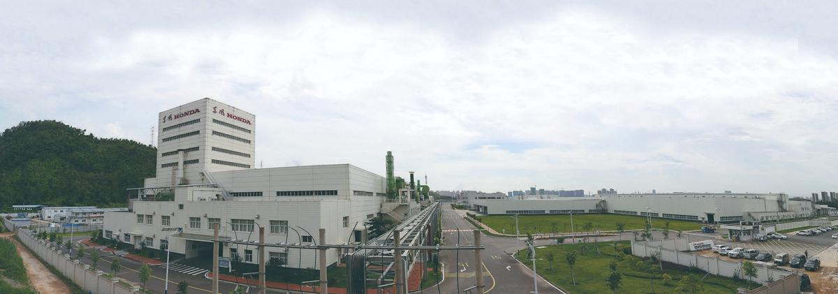 惠州东风本田汽车厂房项目