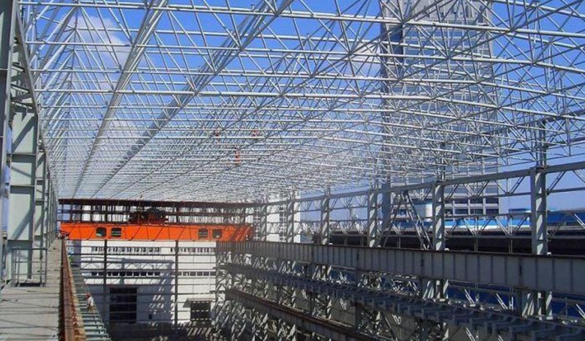 高铁连接线网架工程