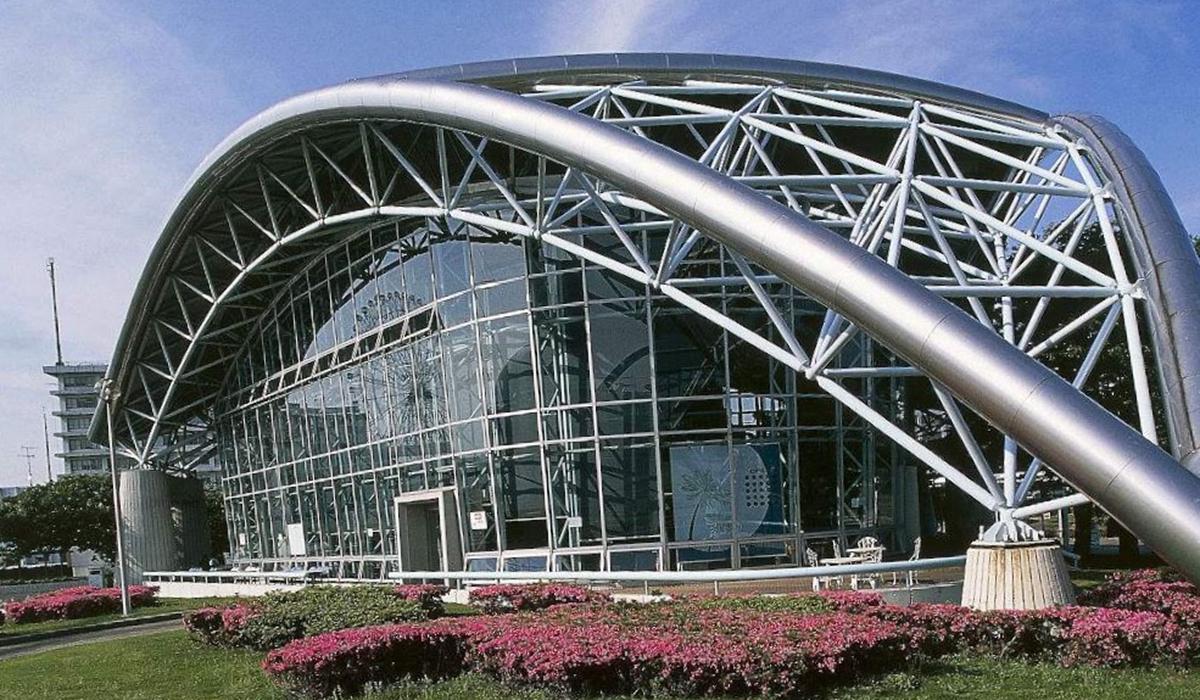 苏州丝绸展览会馆网架工程