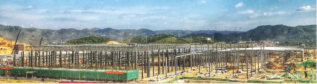 金龙汽车年产2000辆客车漳州龙海异地迁建项目